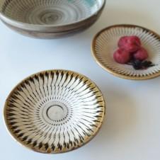小鹿田焼(おんたやき)の小皿