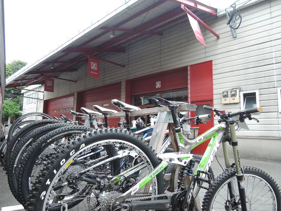 試乗用の自転車