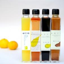 ゆずダレ/味噌ダレ/ゆずドレッシング/ゆず酢