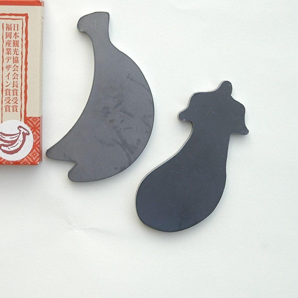 北九州発展の原点「鉄」を使ったアイデア商品。形もかわいらしい!
