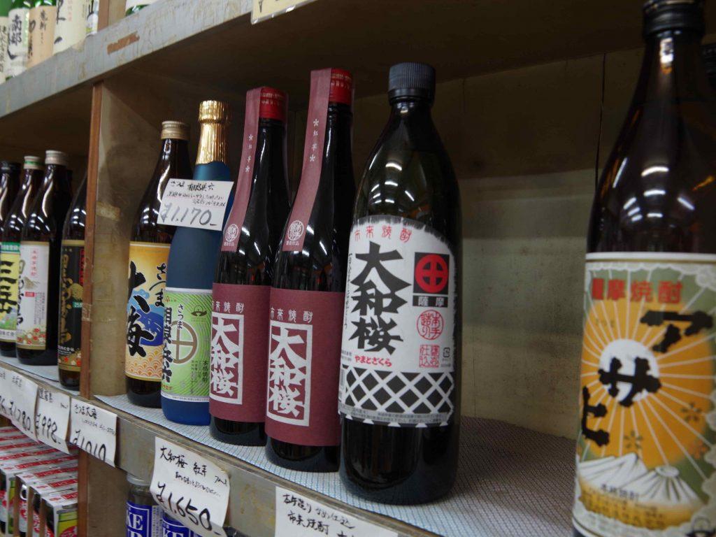 見覚えのあるロゴが。九州みやげ365でも紹介した大和桜も置いてありました。