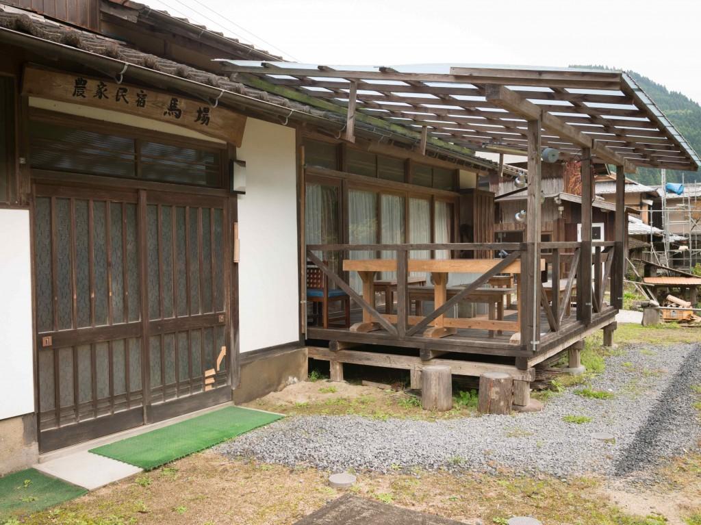 空き家だった民家を改修して民宿にした「農家民宿馬場」