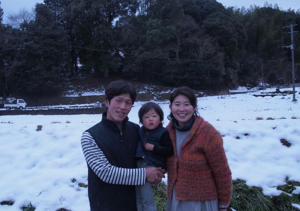 関東で生まれ育った片桐さん。2004年より川崎町に移り住み、自然農法でお米や野菜をつくられています。職業訓練校で農業を教えたりもしているそうですよ。