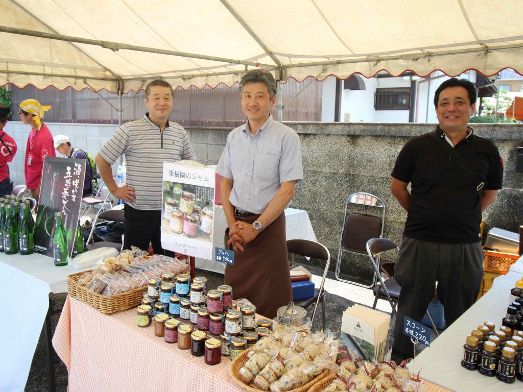 瑞穂菊酒造さん、ラピュタファームさん、筑豊食品工業さん。飯塚やその周辺には素敵な生産者さんがいらっしゃいます。