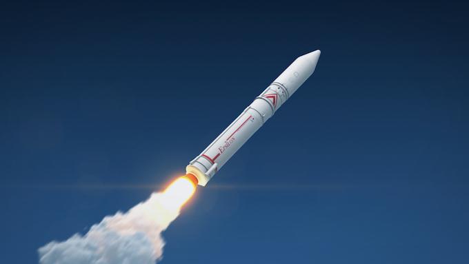 強化型イプシロンロケットのCG